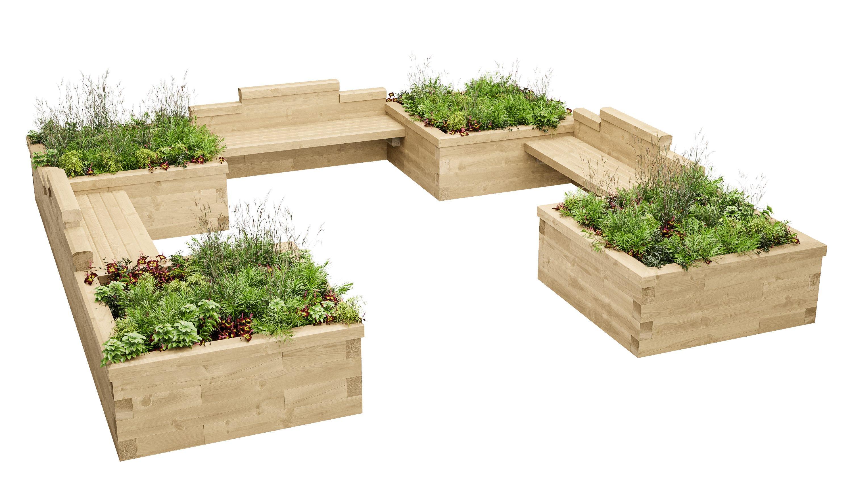 Ihr Garten neu zu gestalten war noch nie so einfach ...   WoodBlocX DE