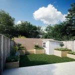Verwandlung von Stadtgärten und Urban Gardens mit WoodBlocX